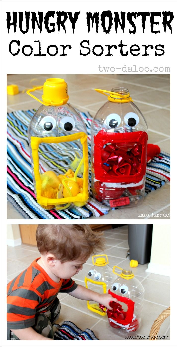 Hungry Monster Color Sorters