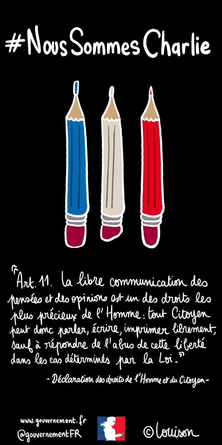 """""""Le hashtag du jeudi de @Louison_A : #NousSommesCharlie http://t.co/DiWcQEblEX"""""""
