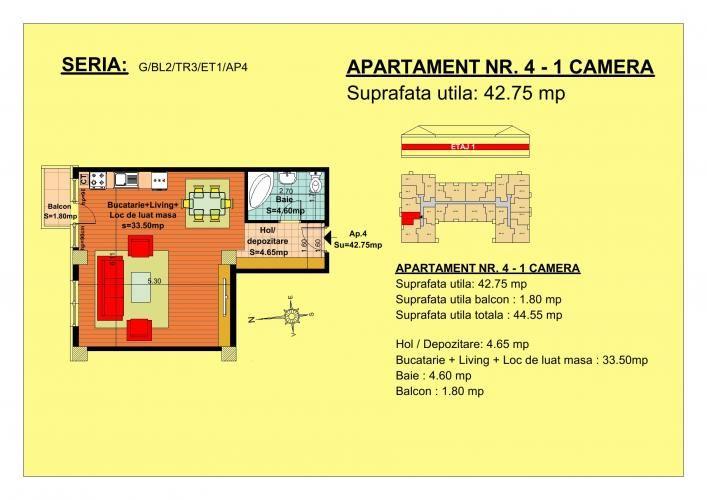 Vand garsoniera, etaj 1, zona Tractorul-Brasov  Situate pe strada Nicolae Labis nr 52, blocurile sunt construite pe un regim de inaltime de P+2 E + Mansarda, cu 2 lifturi si sunt realizate arhitectural cat sa permita acelasi grad de lumina in toate apartamentele.  Acceptam orice forma de plata: Cash, Credit Ipotecar, Prima Casa sau Rate la Dezvoltator.( cu un avans de 10000 euro- 5000 la achizitie si 5000 la mutare, rate de 600 euro, perioada maxima 7 ani) Garsonier