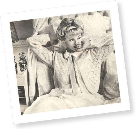 Klassisk sengetrøje fra Flittige Hænder 1959