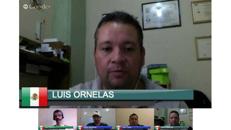 Hangout Equipo Visión Elite, con nuestro invitado de honor, Carlos Barahona #codigowasanga