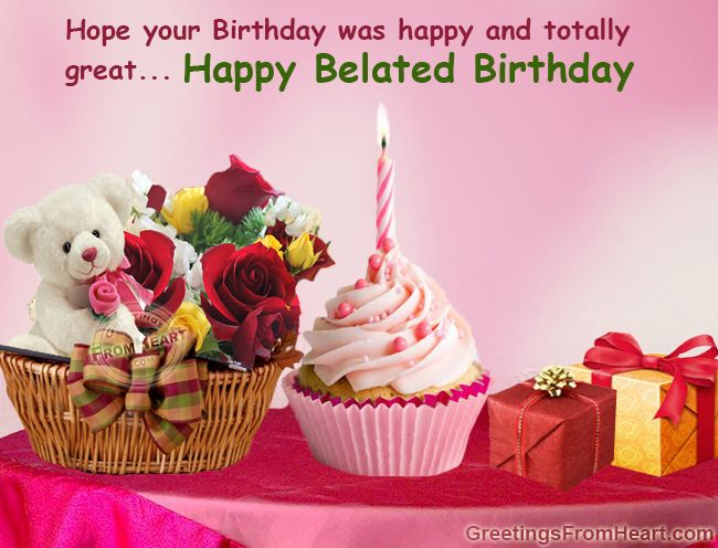 The 25 best Belated happy birthday wishes ideas – 123 Greetings Belated Birthday