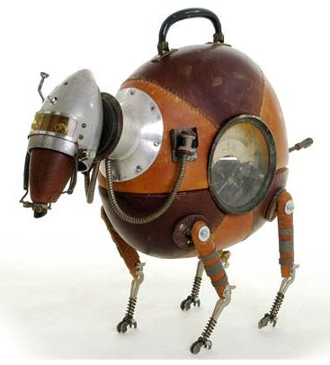 Steampunk Dog: Sculpture, Toy, Steampunk Robots, Stephane Halleux, Art, Steam Punk, Stephanehalleux