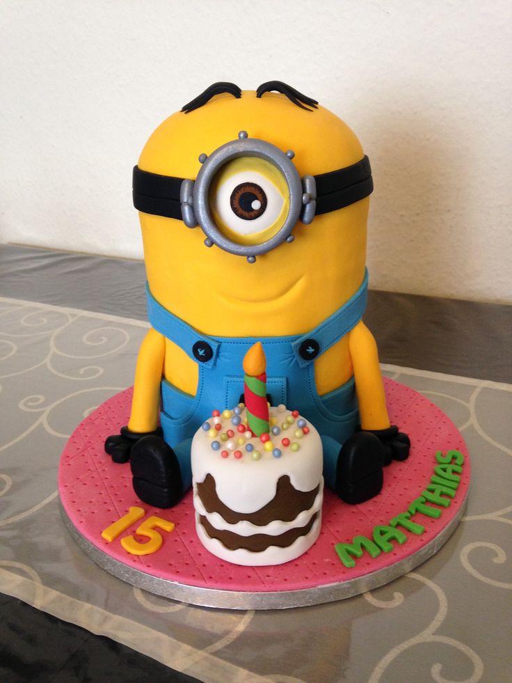 Matthias Geburtstag  Minion Cake