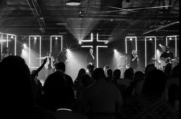 LED React from ThreeLife Church in LaGrange, GA | Church Stage Design Ideas