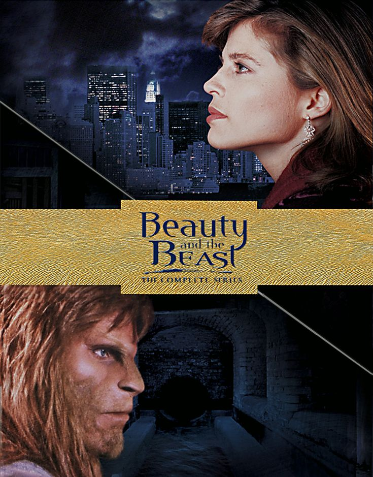 Beauty and the Beast (1987–1990) - Stars: Ron Perlman, Roy Dotrice, Jay Acovone. - The adventures and romance of a sensitive and cultured lion-man and a crusading assistant district attorney in Manhattan, New York City. - CRIME / FANTASY / DRAMA