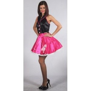 Costume de deguisement rock'n roll années 50-60 deluxe femme création Magic by Freddy's.