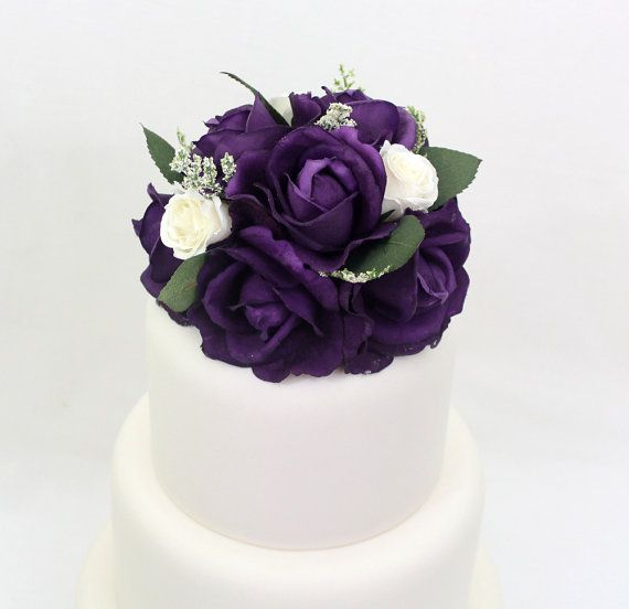 artificial flower wedding cake toppers 186 best images about it tops the cake silk floral wedding 10843