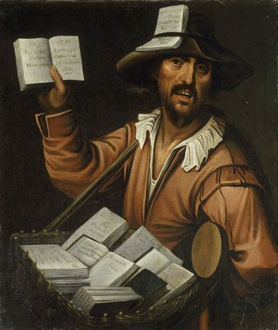 The colporteur, anonymous, Ecole Français
