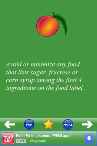 Nutrition tip er gratis. Den kommer med gode sundhedstips.