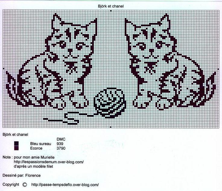 3ea9efc866982f67344f9a41b9c0d3b8--crochet-animals-crochet-filet.jpg (736×634)