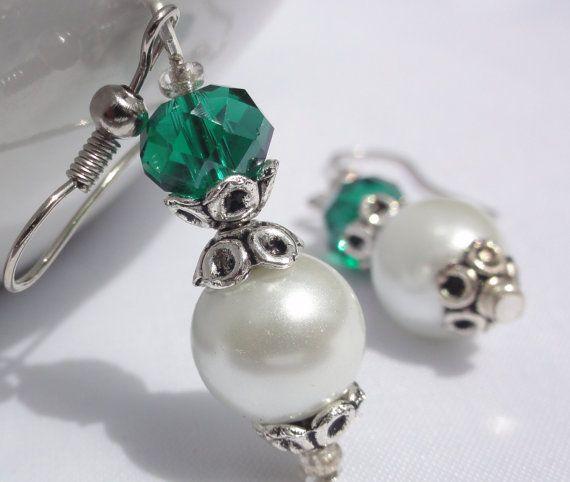 Wedding EarringsBridesmaid Gifts Bridesmaid by StunningGemsJewelry