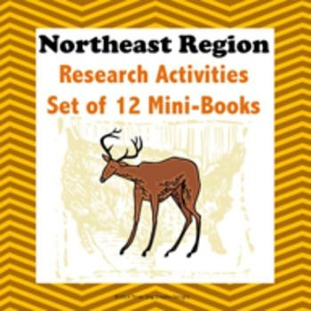 Northeast Region Bundle of 11 State Webquests Mini Book Research ActivitiesThis webquest research activity allows students to create a mini-book of facts for each state of the Northeast region.  The eleven states in this region are New York, New Jersey, Vermont, New Hampshire, Maine, Connecticut, Massachusetts, Delaware, Rhode Island, Maryland, and Pennsylvania.