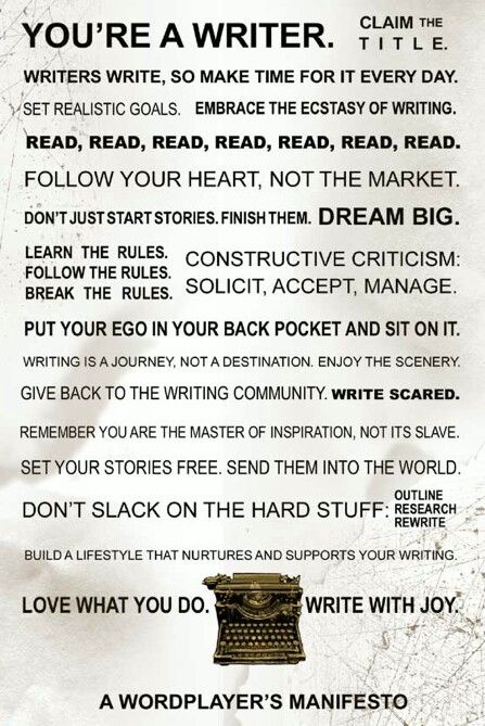 Beautifully said.: Writing Manifesto, Writers Inside, Writers Manifesto, Writers Blocks, Stories Plans, Creative Writing, Writers Crafts, Better Writers, Plans Help