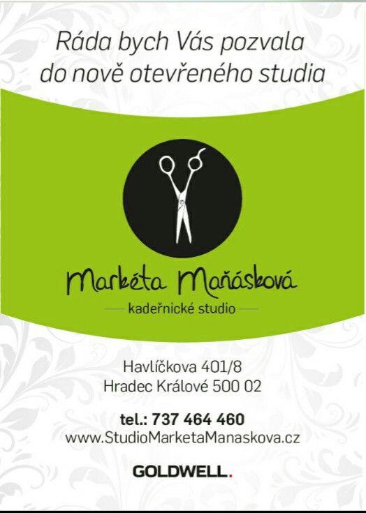 Pozvánka do nově otevřeného kadeřnického studia ✂ ✂ ✂