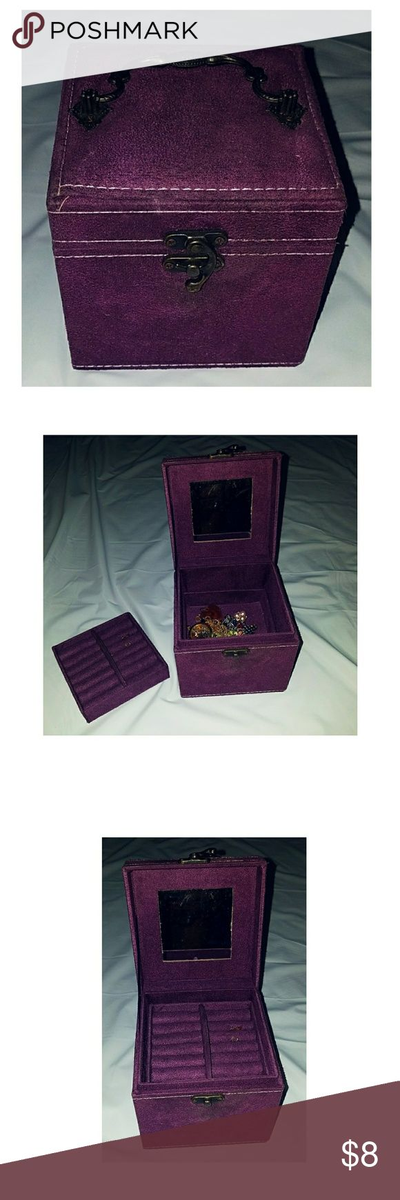 I just added this listing on Poshmark: Purple chest with three spaces, and a mirror 💎. #shopmycloset #poshmark #fashion #shopping #style #forsale #& Other Stories #Jewelry