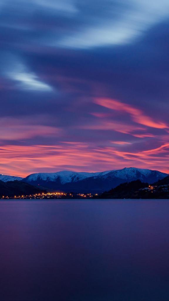 Best Iphone X Wallpaper Lake Dawn Mountains 126967 938x1668 4k Hd