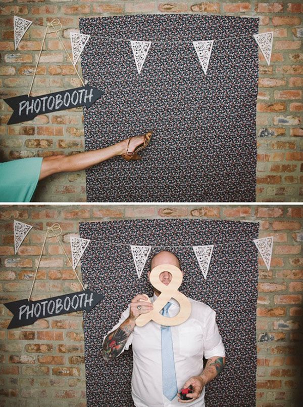 photo booth, wedding, wedding reception, wedding fun, fun wedding ideas, wedding decor, wedding reception ideas