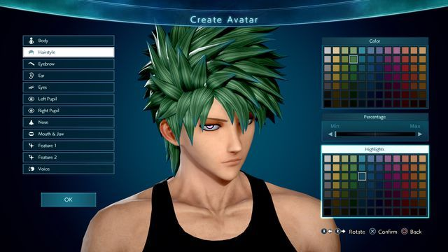 Jump Force Character Creator Will Let You Create Fun Manga Mashups Gaming News Entertainment Create Your Own Anime Character Creator Anime Characters