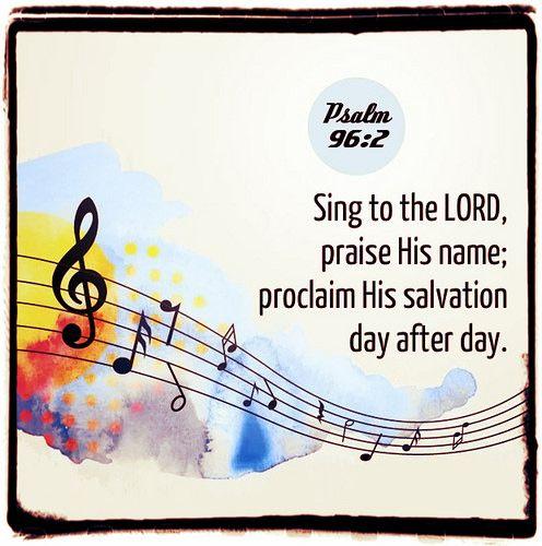 Psalm 96:2 | by joshtinpowers