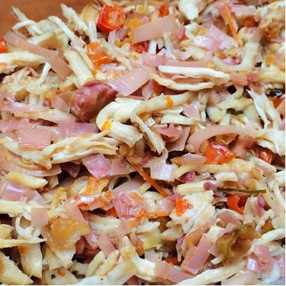 Hasil comblangan @makcombrang dari sambel kecombrang, ikan dan ayam ini bikin ngiler. Location: Jakarta