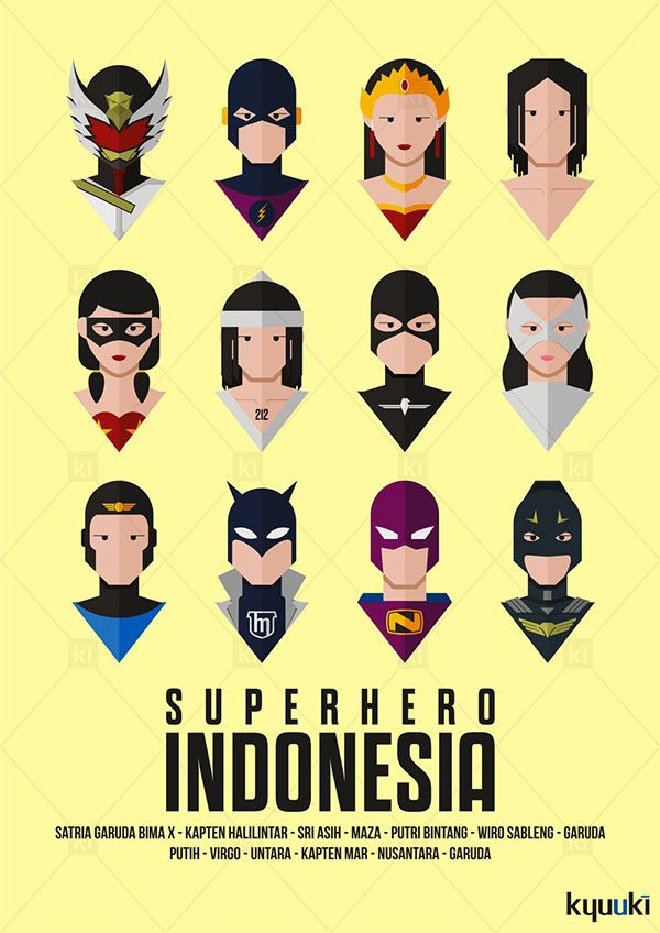 Indonesian Superhero Part 2