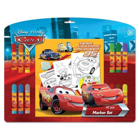 Disney kleurplaat Cars