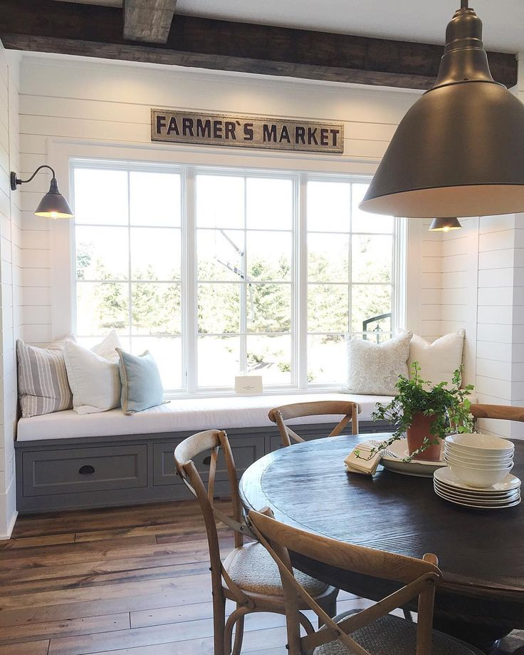 nice Farmhouse Style Home Tour Window