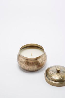 Moroccan Tin Candle