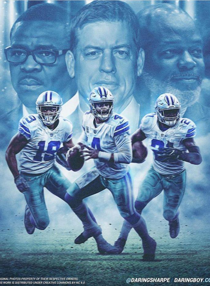 Triplets Dallas Cowboys Wallpaper Dallas Cowboys Players Dallas Cowboys Logo