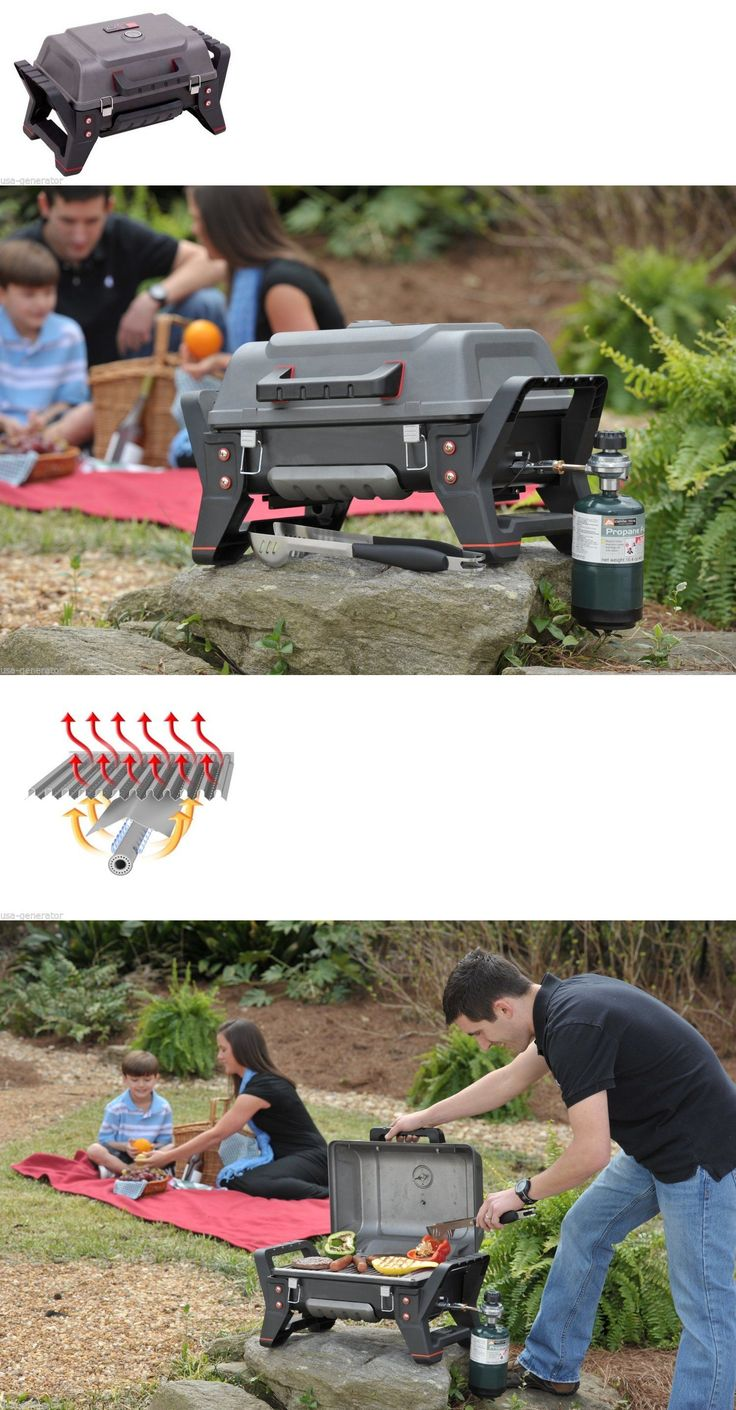 Camping BBQs and Grills 181388: Portable Propane Gas Grill Outdoor Tailgating Hunting Camping Charbroil Latches BUY IT NOW ONLY: $163.8