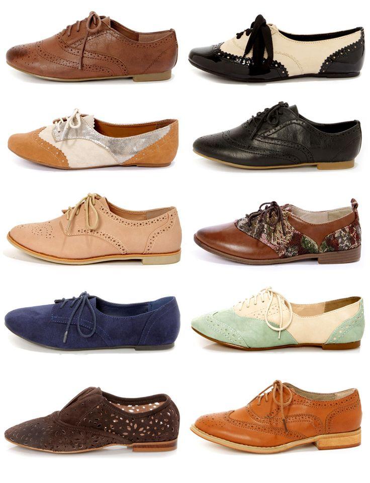 Tom S Kiltie Oxford Shoe Woman