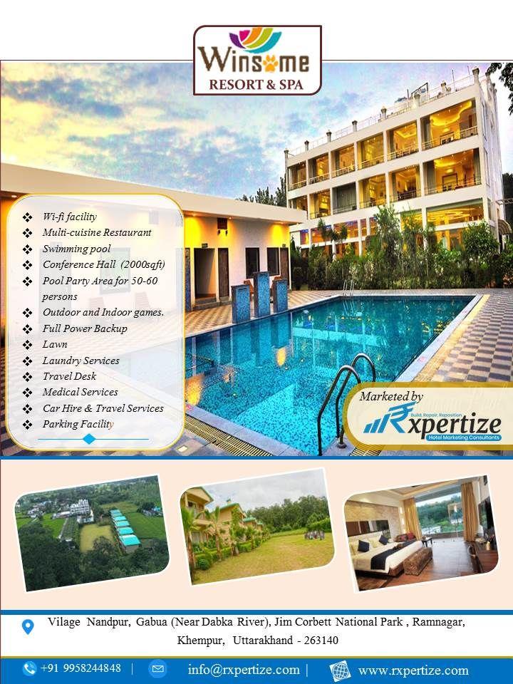 Facilities At Winsome Resorts Spa Jim Corbett Resort Resort Spa Jim Corbett