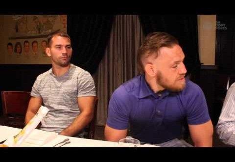 Video – Conor McGregor talks Duffy, Aldo , Faber & more   TalkingBrawlsMMA.com
