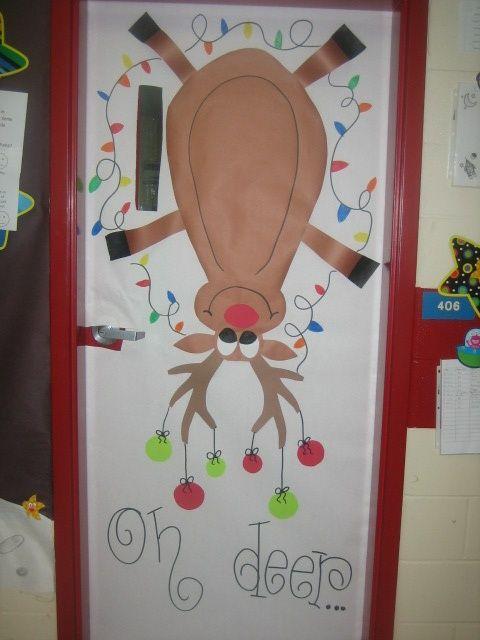 Classroom Bulletin Board Idea #Christmas #BulletinBoards #TeachersFollowTeachers