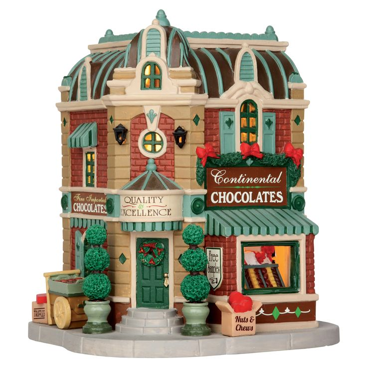 238 best Lemax lighted villages images on Pinterest | Christmas ...