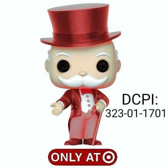 Red Mr Monopoly Coming Out Its A Target Exclusive Found On