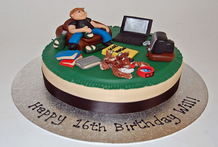 Cake Design For Teenager Boy : 17+ ideas about Teen Boy Cakes on Pinterest Teen cakes ...