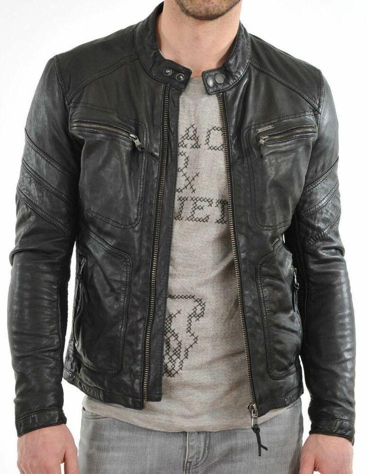 Leofashionking Motorcycle New 100 Leather New 100 Leather Jacket Coat Men Slim Black Leather Jacket Men New Look Leather Jacket Leather Jacket Men
