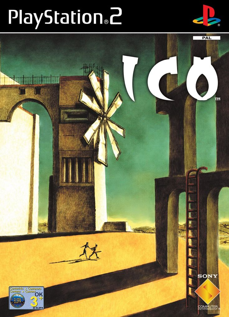 Ico. Game I've always wanted to try. I hear that it's got a similar feel to Shadow of the Colossus.