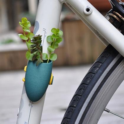 Plant voor je fiets