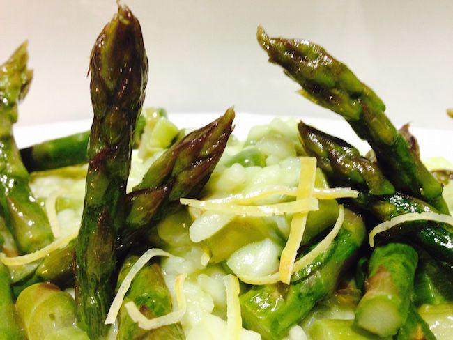 Risotto con asparagi e limone   Food Loft - Il sito web ufficiale di Simone Rugiati
