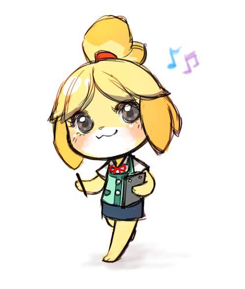 Isabelle | Animal crossing fan art, Animal crossing, Cute ...