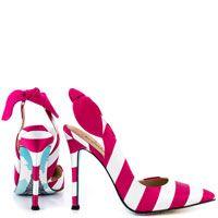 ohhh la la - striped pumps