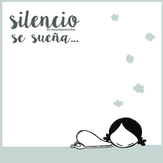 La perfecta combinación de tiempo, silencio... y la posibilidad de soñar. Eeeegunon mundo!