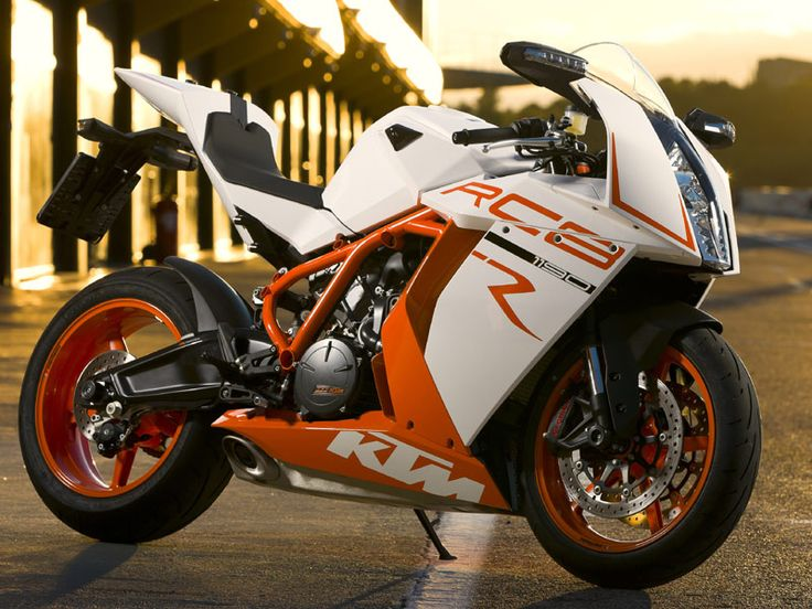 KTM RC8 1190... Look at this sexy monster!