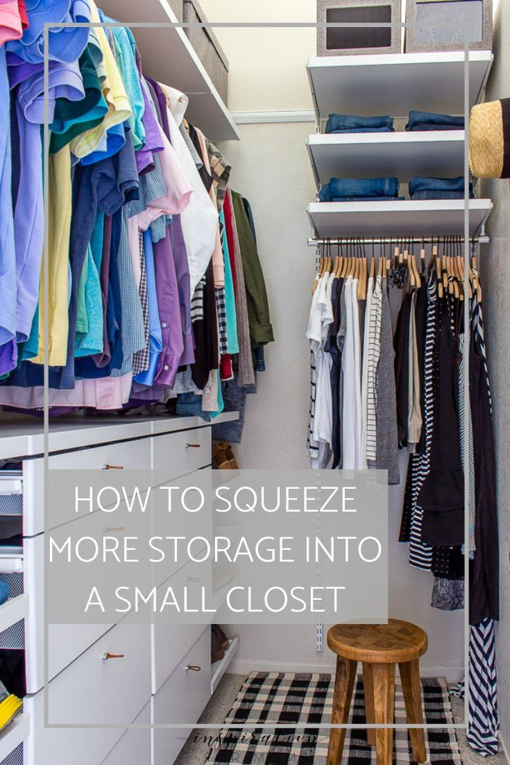 Best Small Closet Organization Tips Closet Hacks Organizing