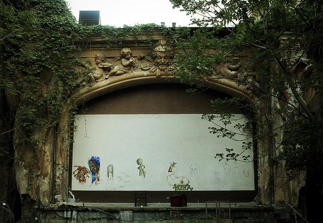 Summer Theater interior by Dominuz, via Flickr