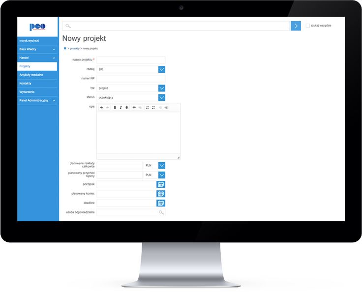 PCO CRM software