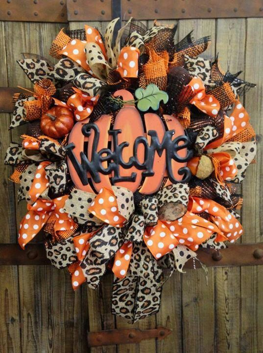 Fall Wreath colors......fun!